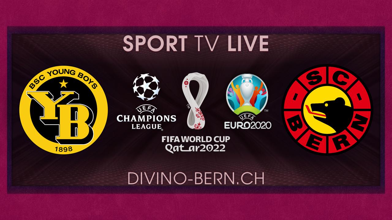 Sport TV live während Öffnungszeit Take Away unter den Lauben vor dem Divino