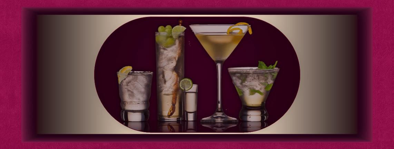 Cocktails für jeden Geschmack in vielen Farben und Grössen