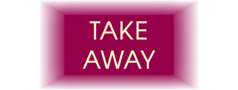 TAKE AWAY ANGEBOT