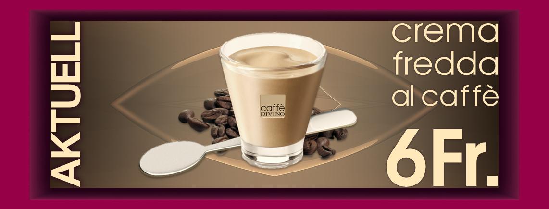 "DIVINO Sommer Hit - Eis Kaffee ""Crema"" wie in Italien"