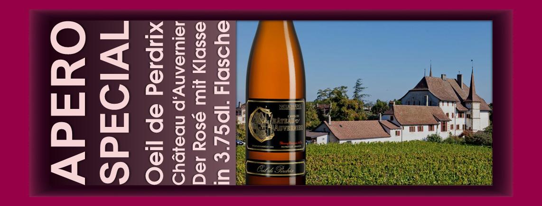 Spirituosen Prosecco und Weine in Flaschen