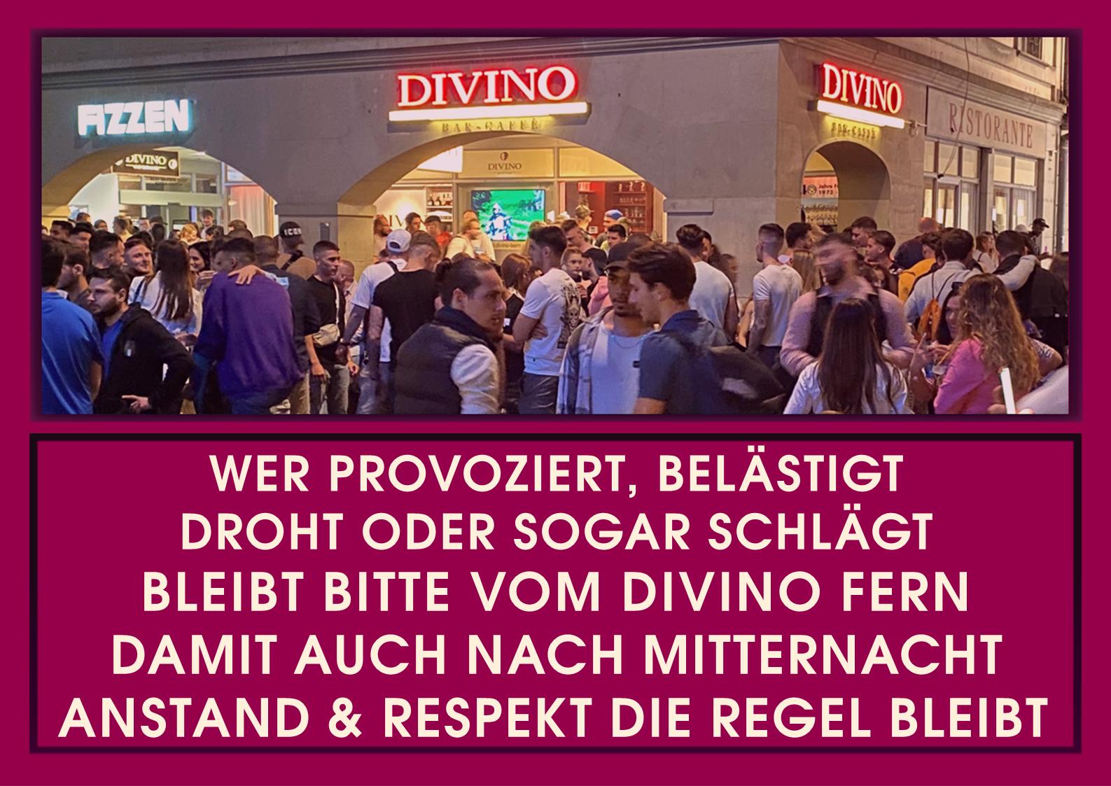 HIER findest Du alles über DIVINOs Party EVENTS