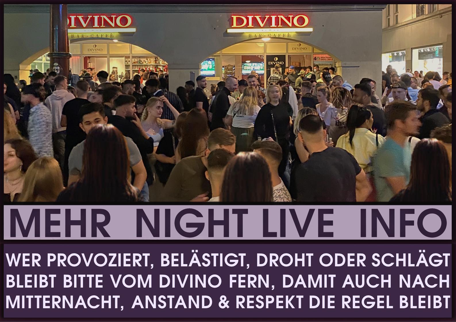 HIER findest Du alles über DIVINOs Night Live & Party Events