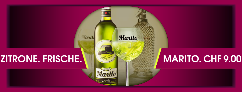 """""""Marito"""" den frischen Ehemann zum trinken, verschiedene Mules und vieles mehr..."""