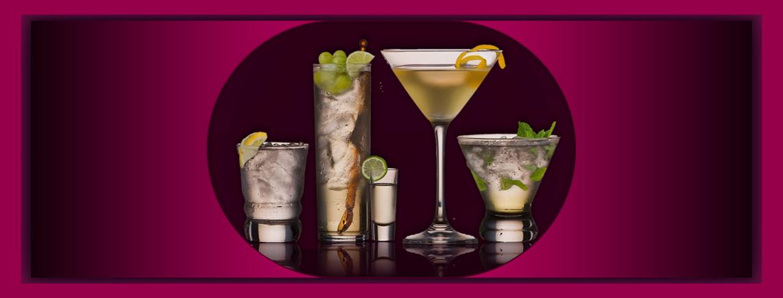 Cocktail Vielfalt für jeden Geschmack und Anlass in vielen Grössen
