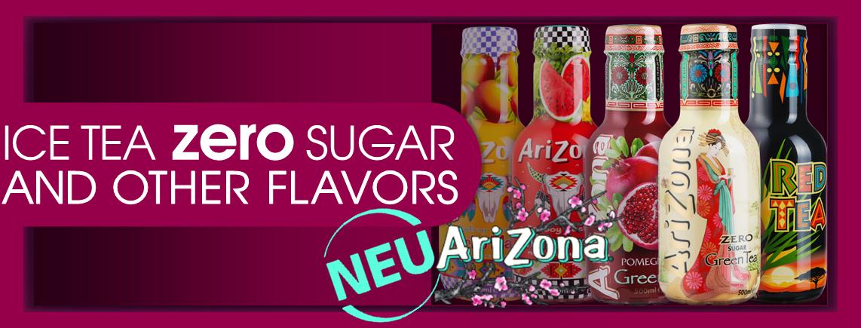 Green Tea ZERO Zucker, Ice Tea Granatapfel, Red Tea Rooibos, Cocktail Mango & Wassermelone Einführungspreis CHF 5.50