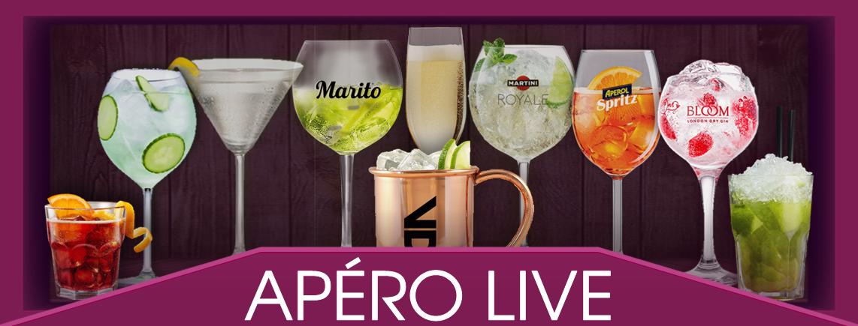 """Coole Apèro Cocktails für jeden Geschmack - Siehe Karte """"Drink & Food"""" online"""