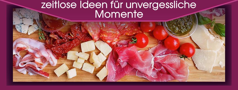 """Antipasti und Apéro Snacks für jeden Geschmack - Siehe Karte """"Drink & Food"""""""